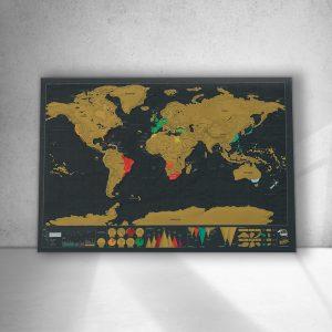 მსოფლიოს გადასაფხეკი რუკა