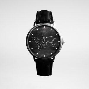 მაჯის საათი W-1 Silver/Black